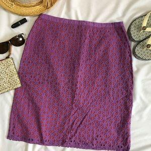Boden eyelet skirt 100% cotton 8 New A26